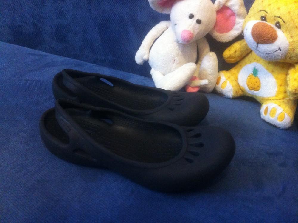 Тапочки балетки crocs (по стельке - 19,5 см) фото №6