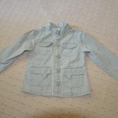 Акция! коттоновый пиджак adams р 134 см