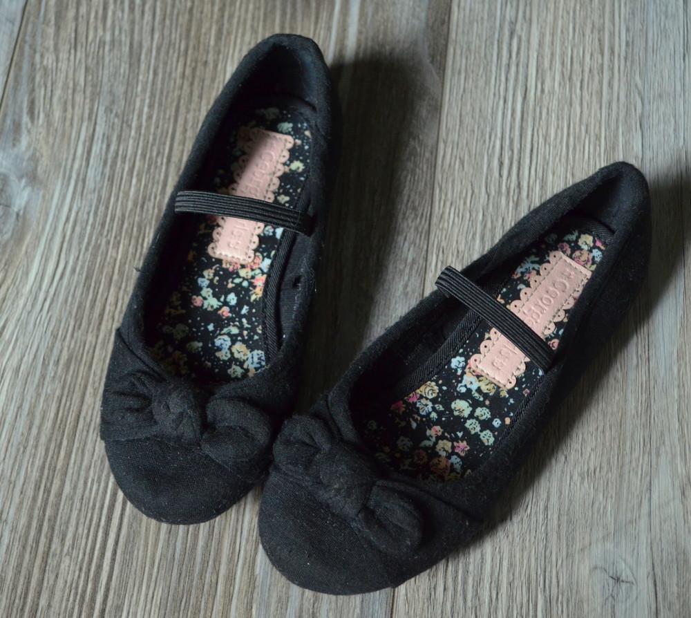 Балетки туфли с бантиками george (29) фото №1
