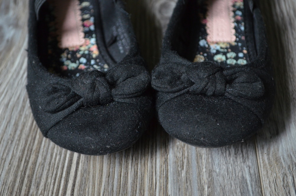 Балетки туфли с бантиками george (29) фото №2