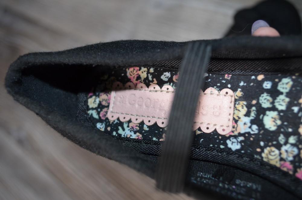 Балетки туфли с бантиками george (29) фото №7
