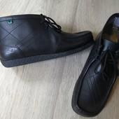 Кожаные ботинки Kickers не носили, 27см