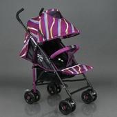 Коляска прогулочная Joy S 608 фиолетовая