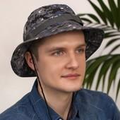 Мужская шляпа с широкими полями. Панама.