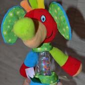 Слон-погремушка игрушка