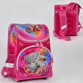 Рюкзак школьный N 00155 2 кармана, спинка ортопедическая, ножки пластиковые