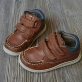 Ботинки кожа Clarks (23F)