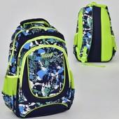 Рюкзак школьный N 00234 4 кармна, спинка ортопедическая