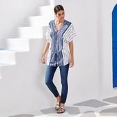 Настоящий летний тренд - блузка из нежной вискозы от Tchibo, Германия