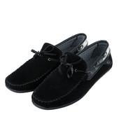 Мокасины мужские на шнуровке