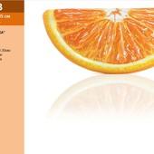 Надувной матрас 58763  Апельсин