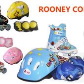 Роликовый комплект Rooney Combo (голубые, розовые, желтые)