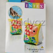Детские надувные нарукавники для плавания intex 58652 от 2-6 лет