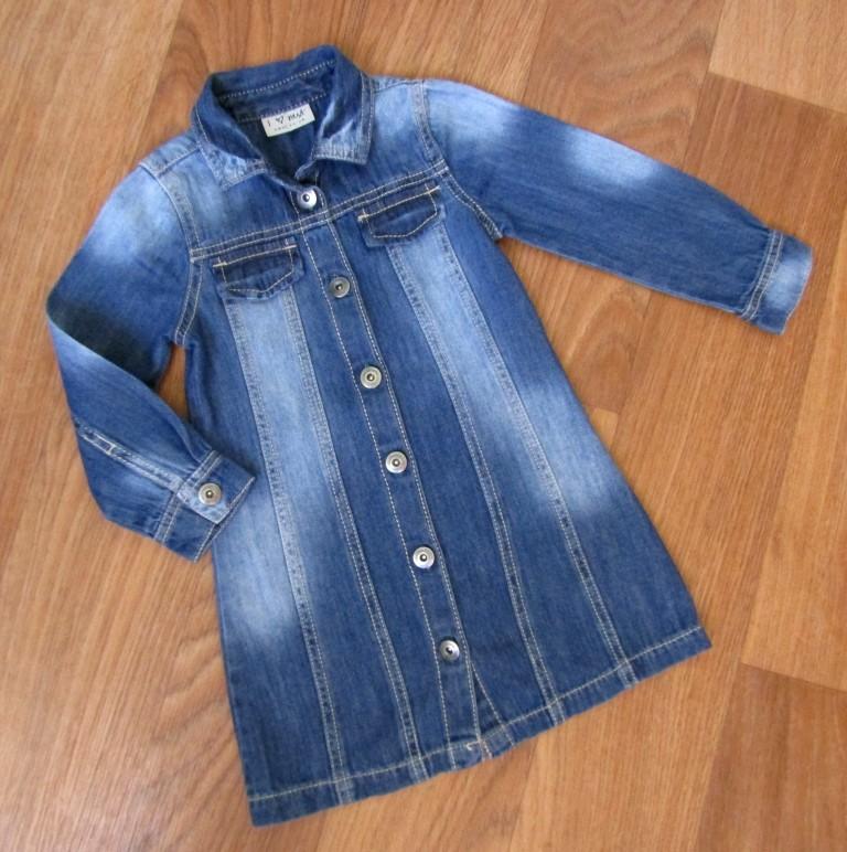 89ab9d5672a1fa1 Джинсовое платьице на 3 года состояние нового, цена 115 грн - купить ...