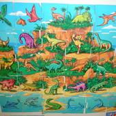 Древние животные динозавры Магниты от Растишки