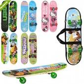 Детский скейт 0299 доска 60х15см