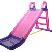 Горка для катания Долони 0140/05 Doloni розово-фиолетовая для девочки