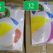 Интекс надувные мячи