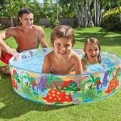 Детский бассейн Dino Snapset Intex