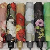 Легкие качественные зонты антиветер, карбоновые спицы