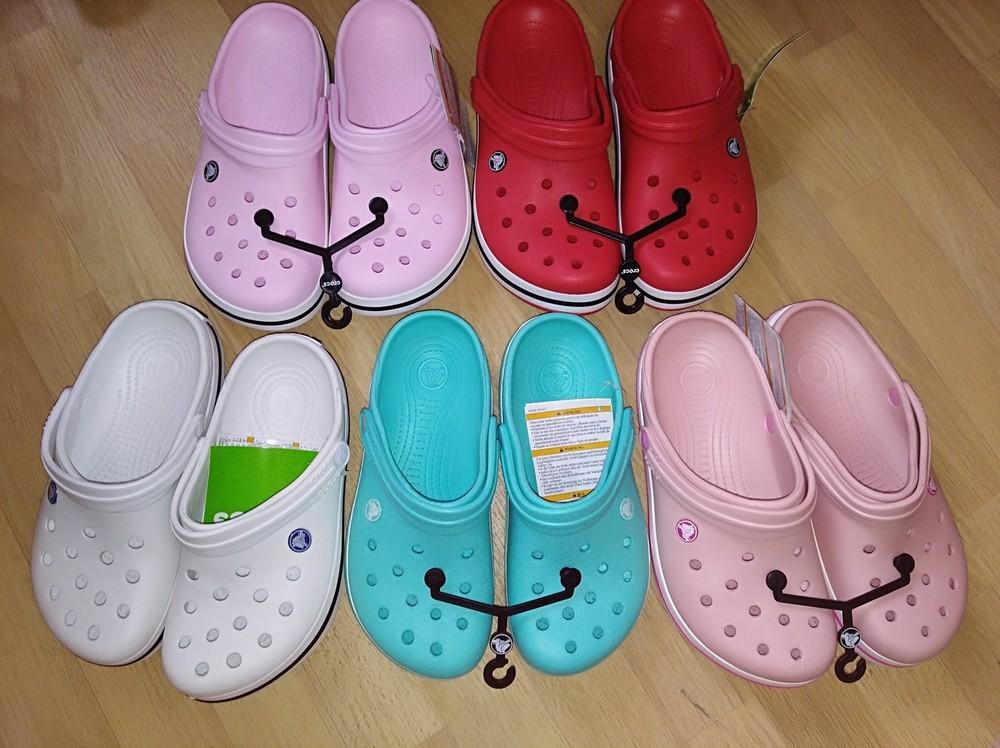 Женские  Crocs Crocband  в наличии фото №1