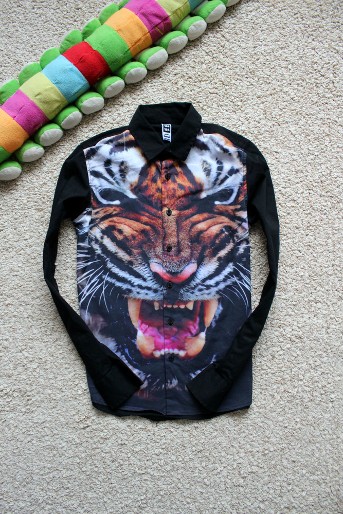 Красивенная рубашка на 11-13 л фото №1