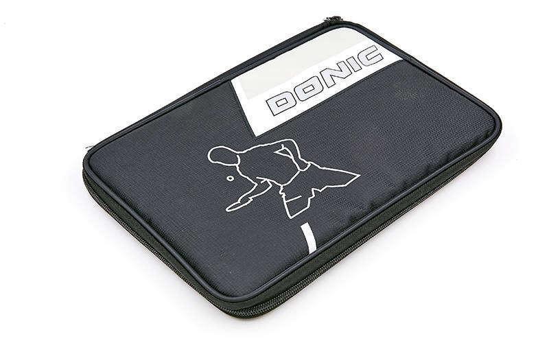 Чехол на ракетку для настольного тенниса donic salo 818532: размер 30х21см фото №1