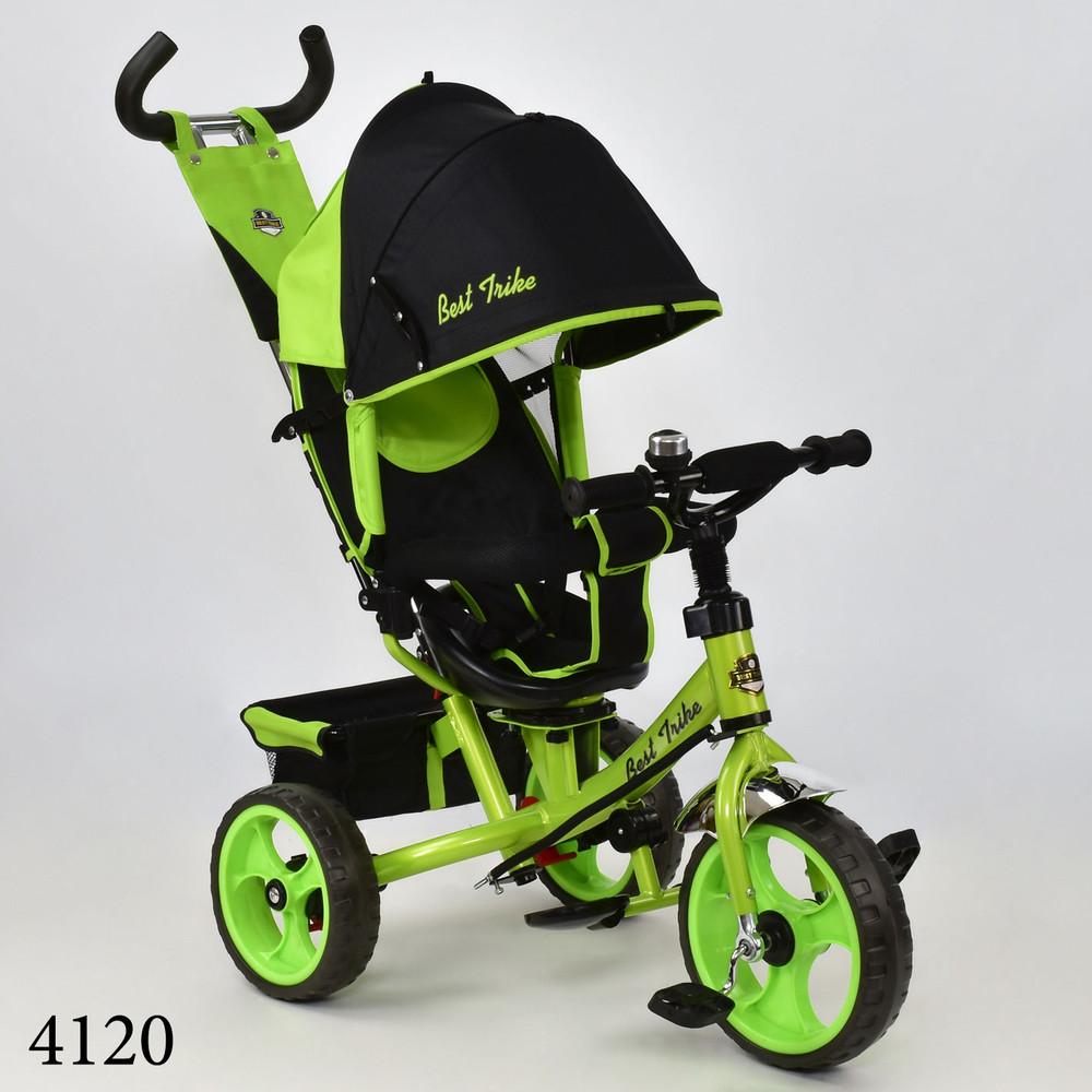 Бест трайк 5700 велосипед колеса пена детский трехколесный best trike фото №1