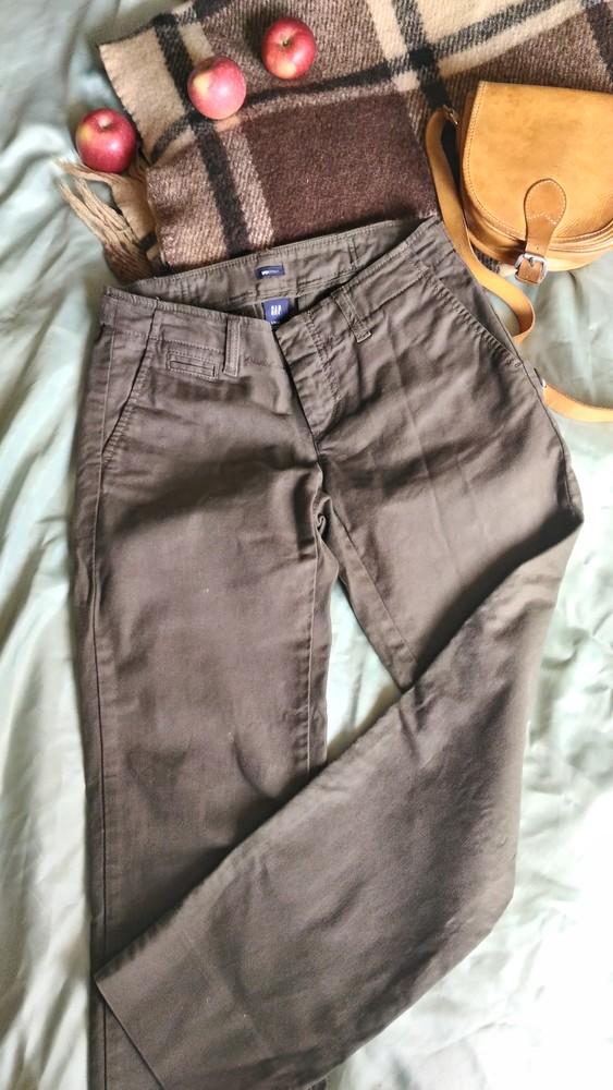 Плотные брюки gap в стиле милитари, р-р s фото №1