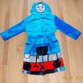 Фирменный халат M&S для мальчика 2-4 года, 92-104 см