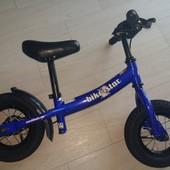 Велобег, беговел Bike star, диметр колес 10, б/у