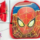 3D рюкзак Человек Паук, плюшевый, *есть нюанс