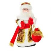 Игрушка Дед Мороз, 30 см, музыка, свет, движение