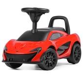 Макларен Z 372L толокар каталка детская машинка McLaren музыкальный. Кож сиденье