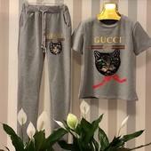 Костюм из удобного трикотажа Gucci