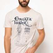 2-32 Мужская футболка DeFacto одежда Турция чоловіча футболка майка мужская одежда