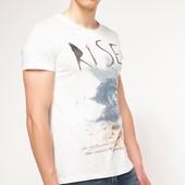 2-34 Мужская футболка DeFacto одежда Турция чоловіча футболка майка мужская одежда