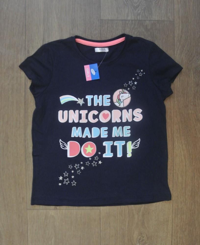 18-11 футболка pepco 6-7 лет рост 122 футболка для девочки дитячий одяг фото №1