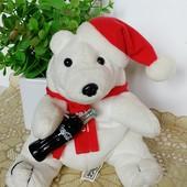 Мишка медведь коллекционный от CocaCola