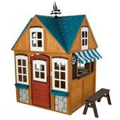 Kidkraft Детский деревянный домик с кухней stoneycreek playhouse 00402 seaside cottage