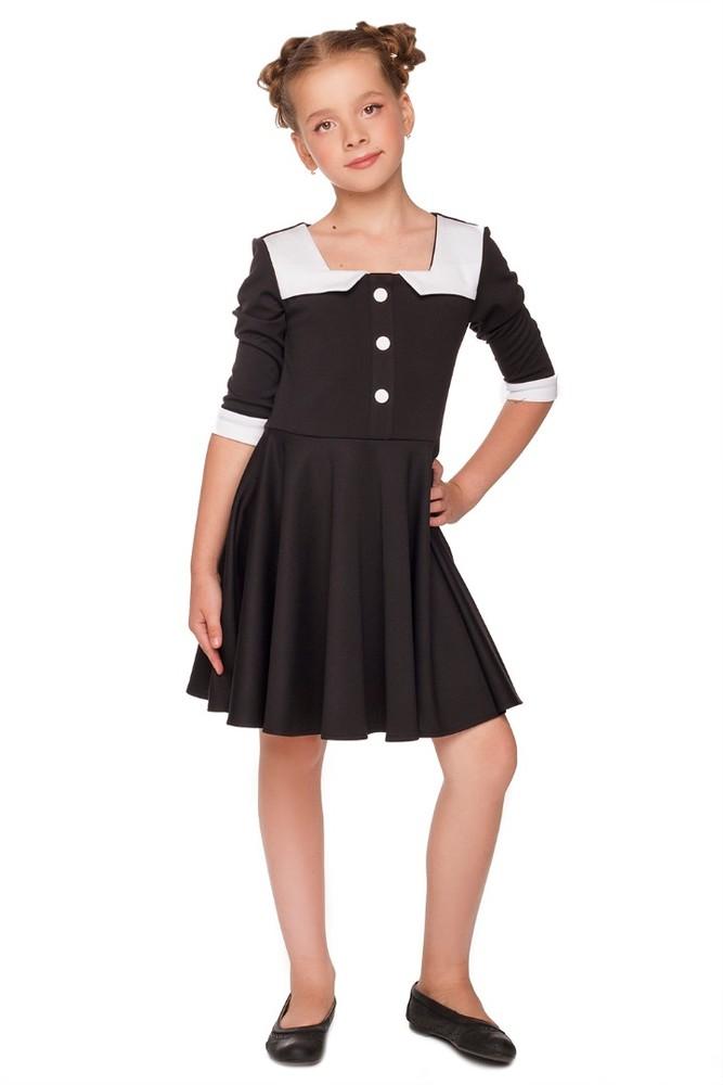 Платье школьное юана производитель: украина состав:  70% полиэстер, 30% размер 134-152 фото №1