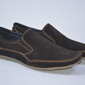 Мужские   туфли, Распродажа, натуральная замша