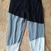 Спортивные штаны фирменные Reebok PlayDry р.48 М