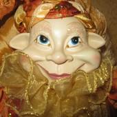 кукла королевский шут 50 см.