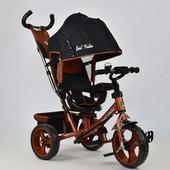 Велосипед 5700 - 4340 бронзовый Best Trike, поворотное сидение, колеса eva d 28см d 24см