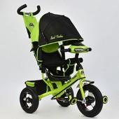Велосипед 3-х колёсн. 6588 В 2690 Best Trike надувные колеса d 29 см, переднее d 26 см, задние, фара