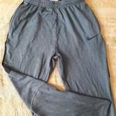 Спортивные штаны лёгкие фирменные Nike Dri Fit р.44-46