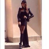 Платье-туника женское пошив ассиметрия