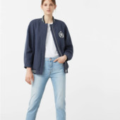 Mango))) стильна фірмова курточка - бомбер