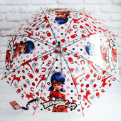 Испания. Зонтик Зонт Леди баг прозрачный зонт